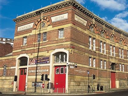 NMGM Conservation Centre - Whitechapel Liverpool Neptune
