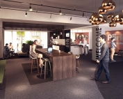 Baltic Village Lounge CGI